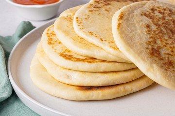 Naan Brot aus Indien