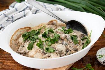Pilz-Fisch-Pfanne