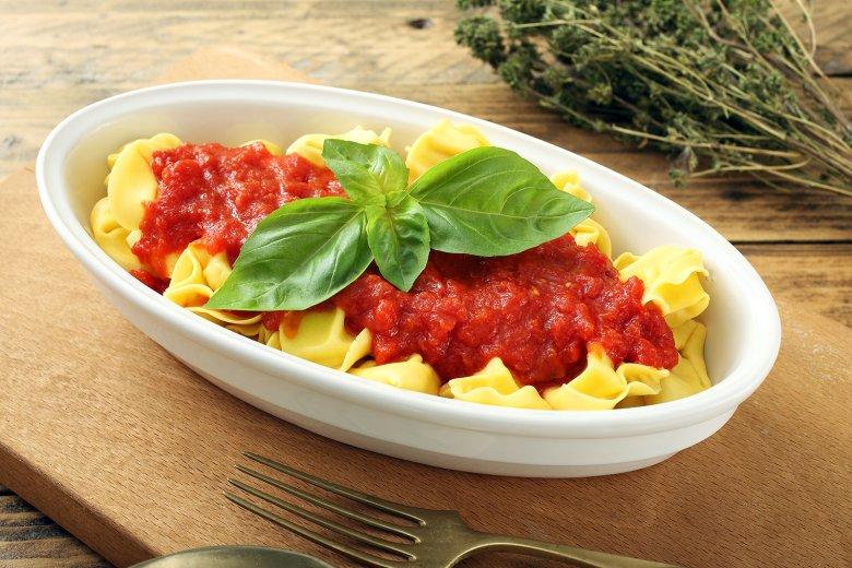 Tomatensoße für Tortellini