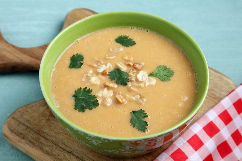 Afrikanische Erdnusssuppe