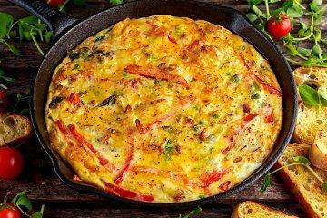 Spanische Gemüse-Tortilla