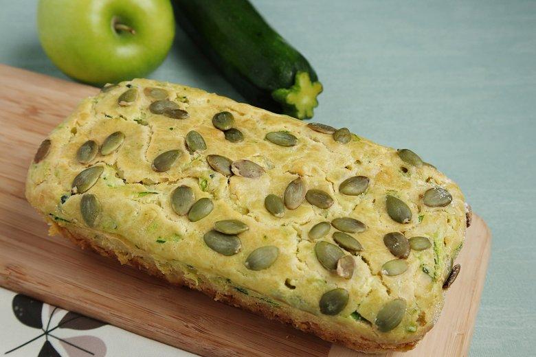 Zucchini-Apfel-Brot