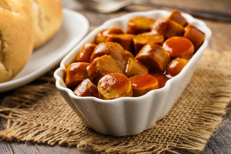 Currysauce für die Currywurst