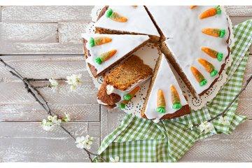 Karottenkuchen für Ostern