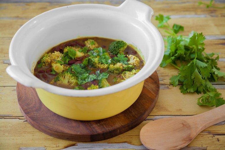 Kidneybohnen-Curry