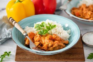 Schnelle Hähnchen-Paprika-Pfanne