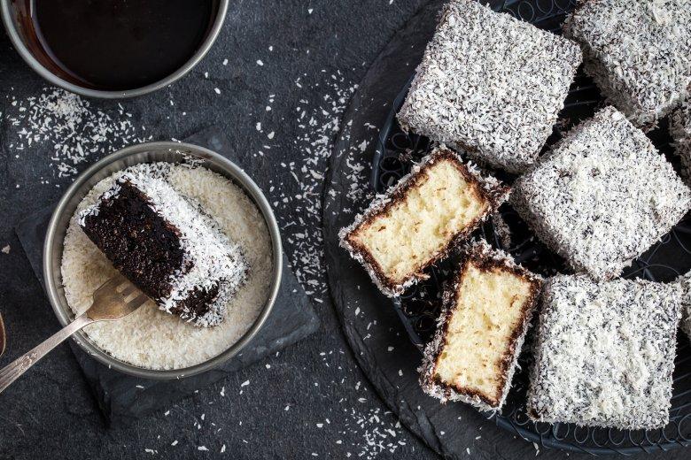 Lamington Kuchen