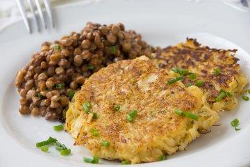 Sauerkraut-Kartoffel-Rösti