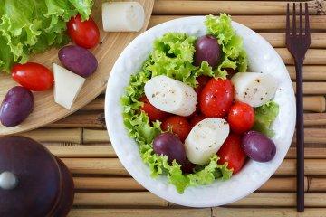 Salat mit Palmenherzen
