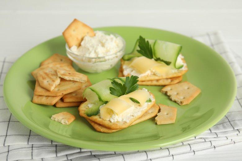 Käse-Cracker