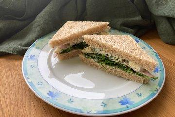 Clubsandwiches mit Rucola