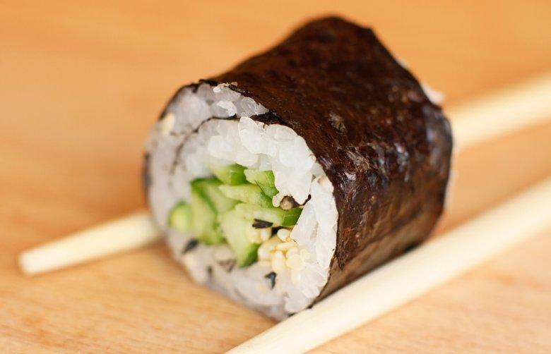 Gemüse Sushi