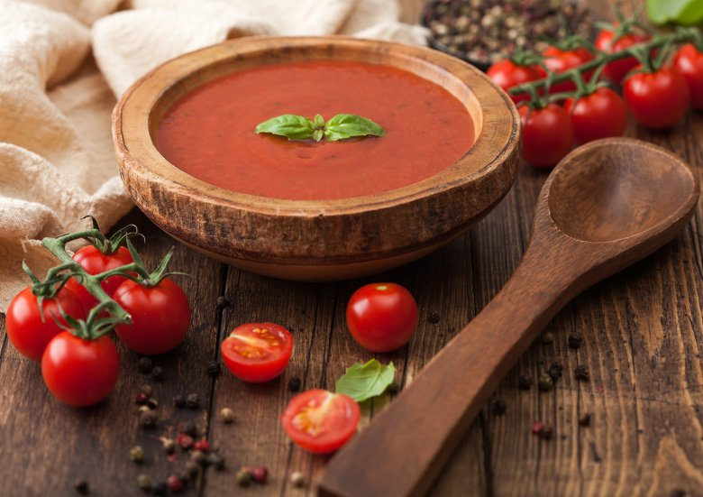 Dicke Tomatensuppe