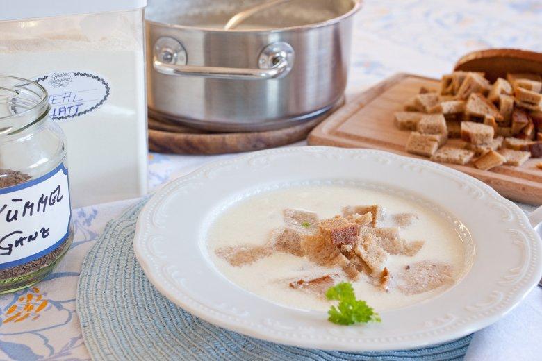 Salzburger Rahmsuppe
