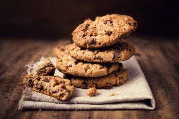 Schnelle Schokocookies