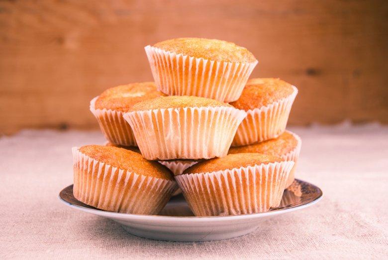 Karamellmuffins