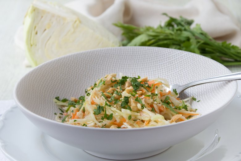 Weißkohlsalat mit Möhren