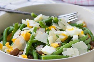 Gemischter Bohnensalat