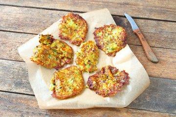 Zucchinipuffer mit Kartoffeln