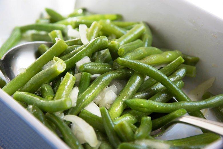 Grüne Bohnen Salat