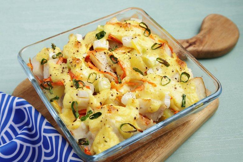 Fischragout mit Kartoffeln
