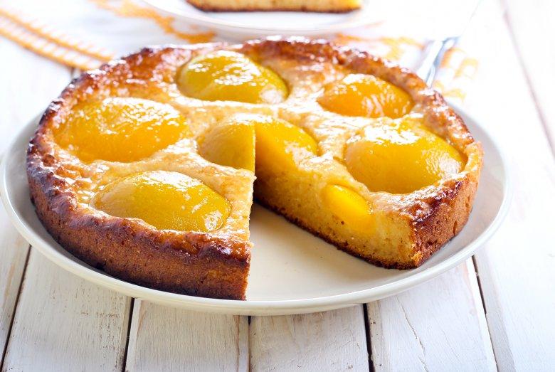 Pfirsich-Rührkuchen