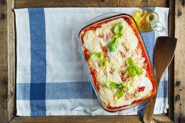 Gemüselasagne mit Tomatensauce