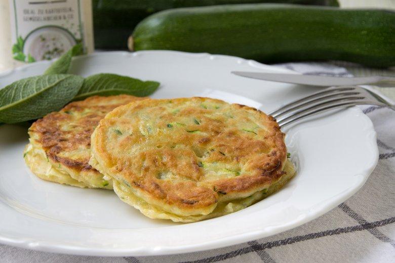 Zucchini-Plinsen