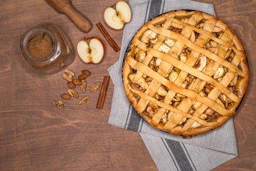 Crostata mit Apfel