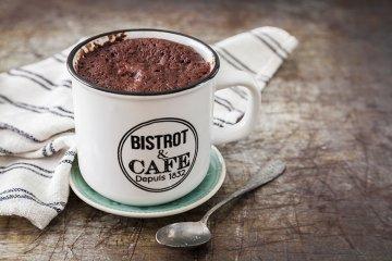 Schneller Tassenkuchen-Brownie
