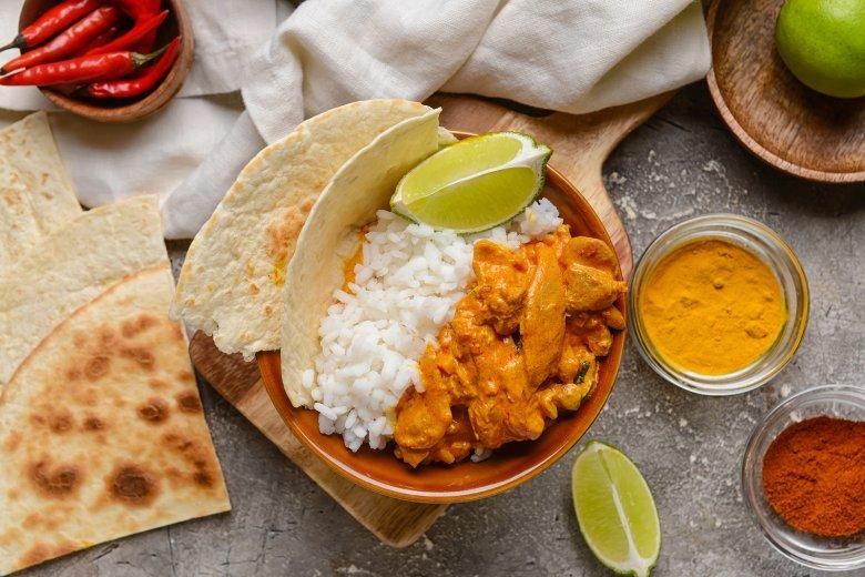 Kokos-Puten-Curry