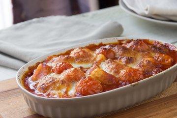 Gnocchi-Tomaten Auflauf