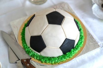 Fußballkuchen