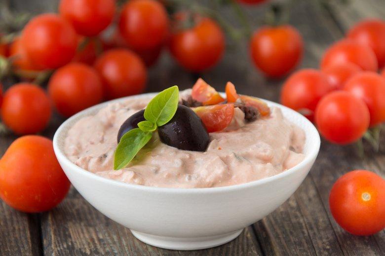 Feta-Tomaten-Dip