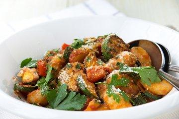 Einfacher Gnocchi-Salat