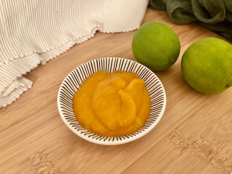Einfaches Mangopüree