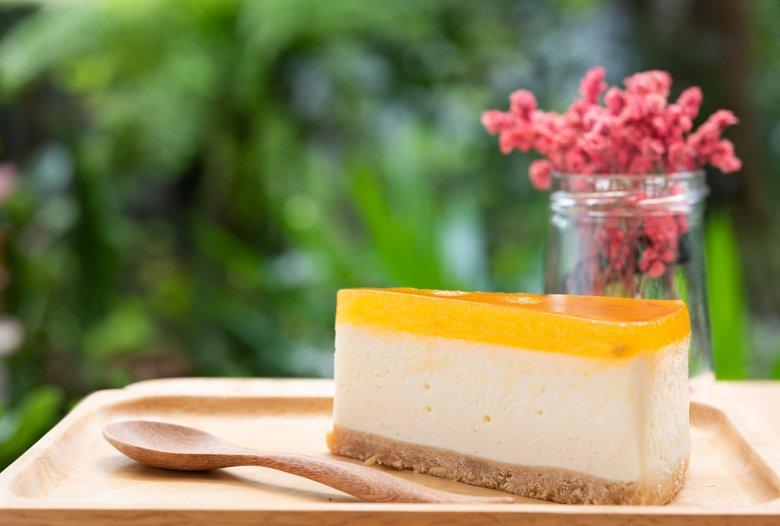 Pfirsich-Maracuja-Torte ohne Backen