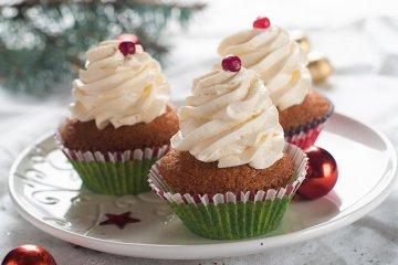 Cupcakes mit Lebkuchen