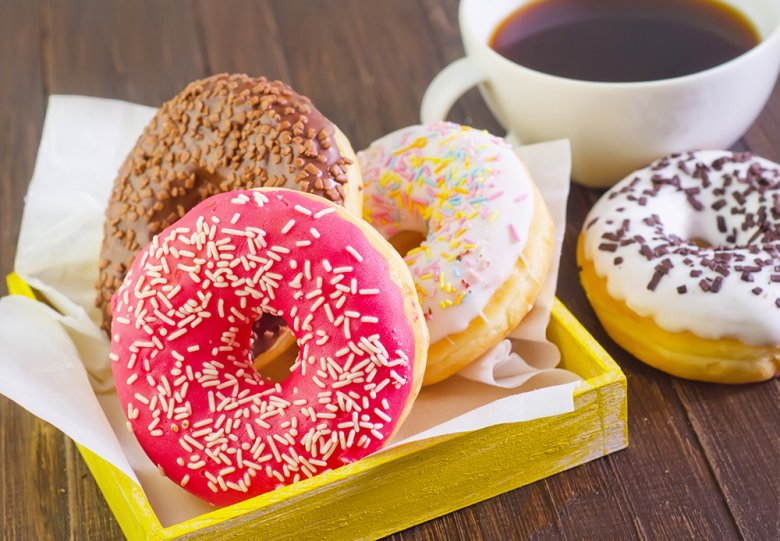 Vanille Donuts