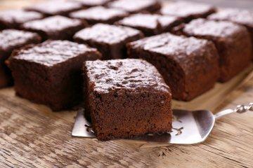 Brownies mit Marzipan