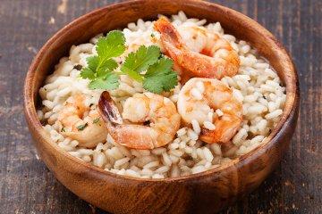 Shrimps-Risotto