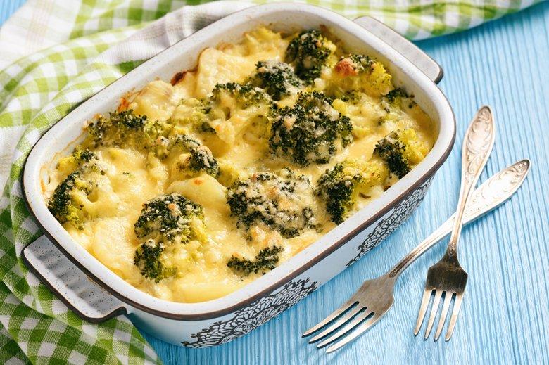 Kartoffel-Brokkoli Auflauf