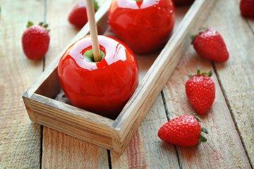 Kandierte Äpfel