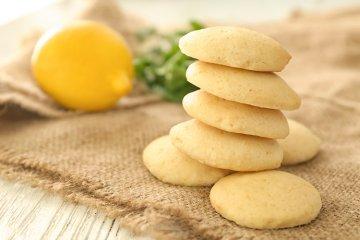 Einfache Zitronenplätzchen