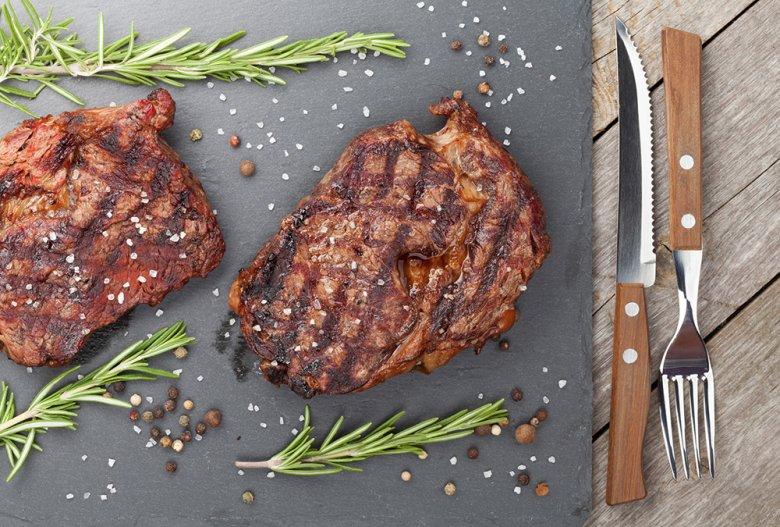 Rinderhüftsteak vom Grill