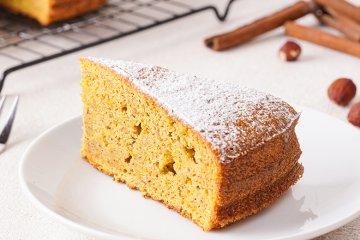 Karotten-Nuss-Kuchen