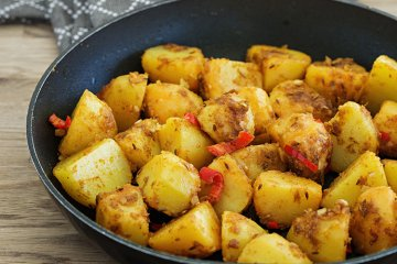 Chilikartoffeln
