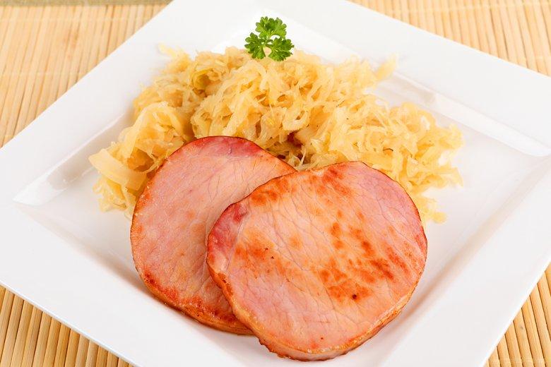 Kasslerkotelett Mit Sauerkraut Rezept Gutekuechede
