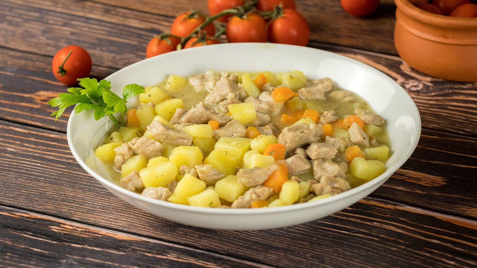 3x 1160g Fleischermeisters Kartoffelsuppe Eintopf mit Schweinefleisch Dose