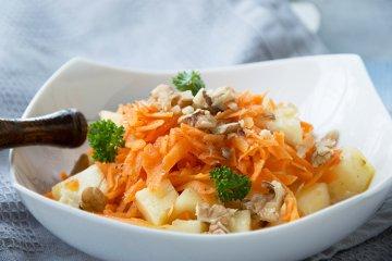 Karotten-Ananas-Salat